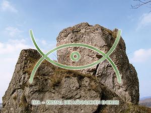 Meditationskarte / Energiesymbolkarte<BR />ELTA - männliche Energie
