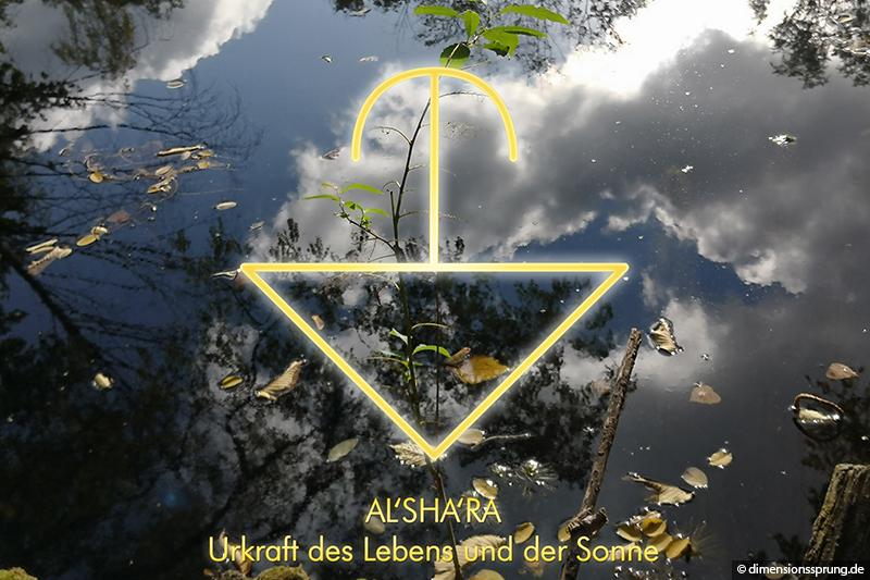 Meditationskarte / Energiesymbolkarte AL'SHARA