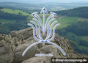 Meditationskarte / Energiesymbolkarte AMA'NAA - (spiritueller) Mut
