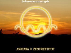 Meditationskarte / Energiesymbolkarte<BR/>AVATARA - Zentriertheit