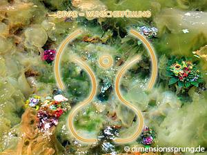 Meditationskarte / Energiesymbolkarte<BR />DEVAR - Wunscherfüllung