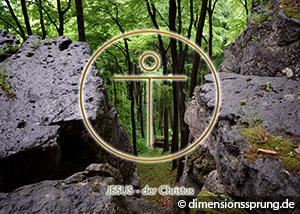 Meditationskarte / Energiesymbolkarte JESUS - der Christus