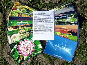 Meditationskartenset / Energiesymbolkartenset <BR />SET - alle 51 Karten