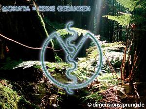 Meditationskarte / Energiesymbolkarte MOHA'RA (MOHARA) - Reine Gedanken