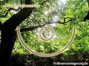 Meditationskarte / Energiesymbolkarte MONASH - Geborgenheit