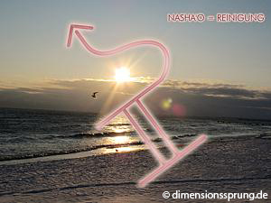 Meditationskarte / Energiesymbolkarte NASHA'O (NASHAO) - Reinigung