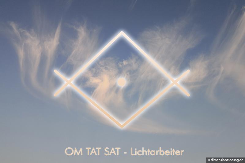 Meditationskarte / Energiesymbolkarte OM TAT SAT