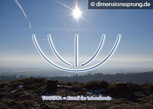 Meditationskarte / Energiesymbolkarte TAN'ATARA - Lebensfreude